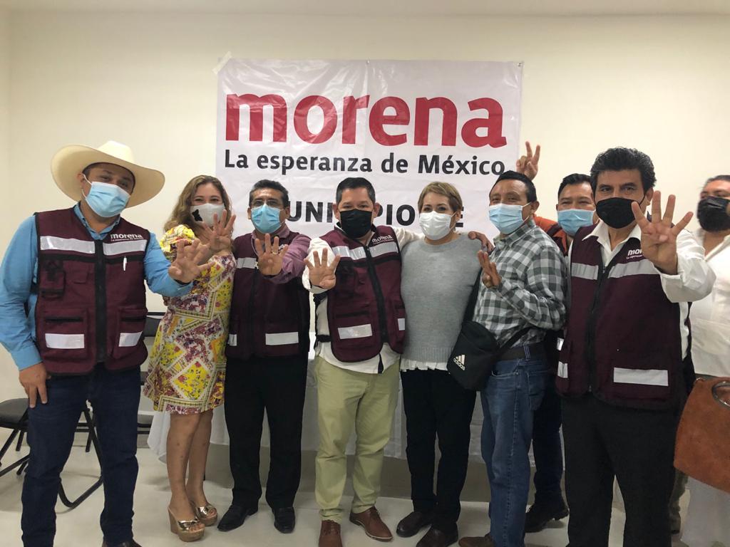 Bloque del Sur Othon P. Blanco Bacalar Jose Maria Morelos Benito Juarez Morena Quitana Roo