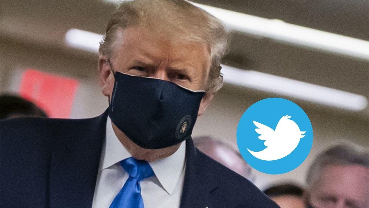 trump twitter covid 19