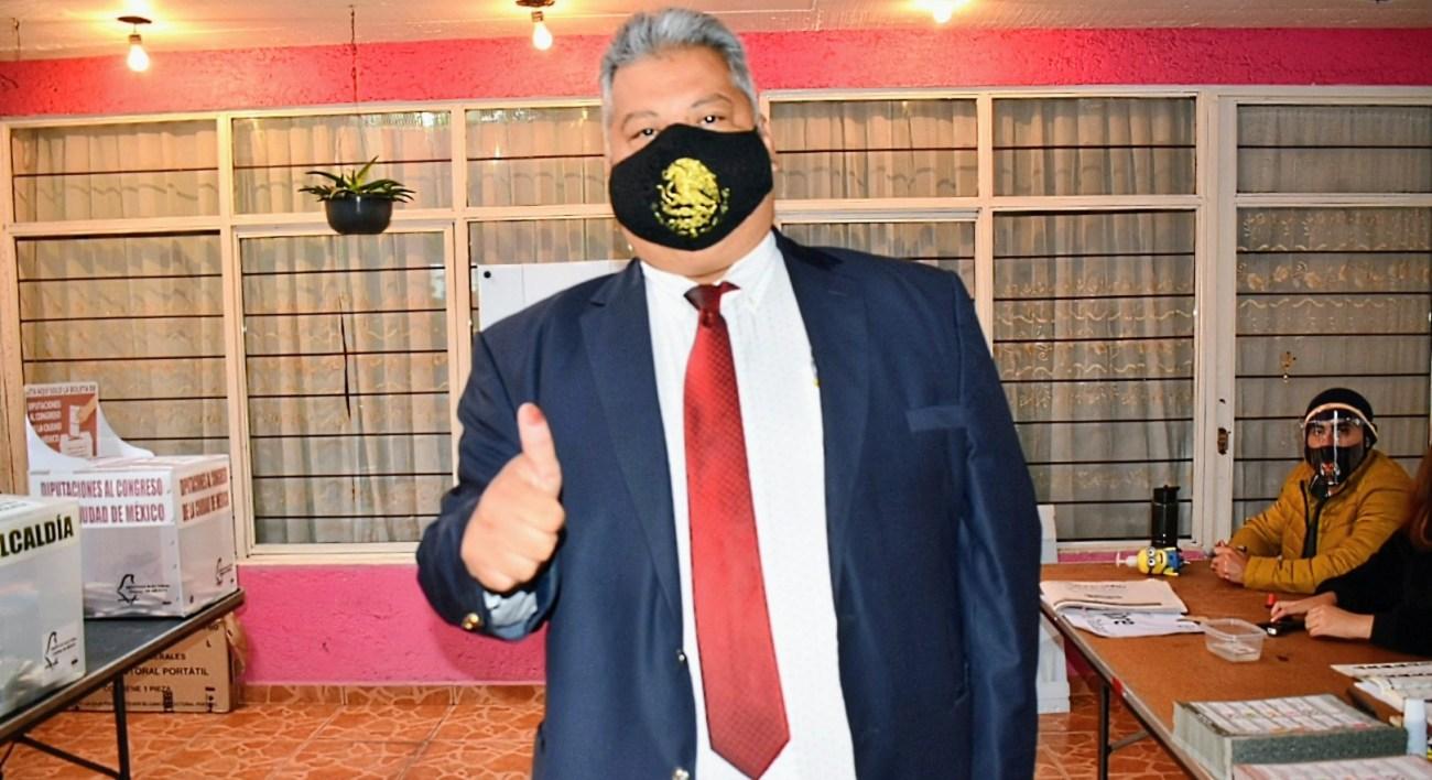 Bajo el principio de Representacion Proporcional Carlos Cervantes Godoy sera parte de la bancada de Morena en el Congreso de la Ciudad de