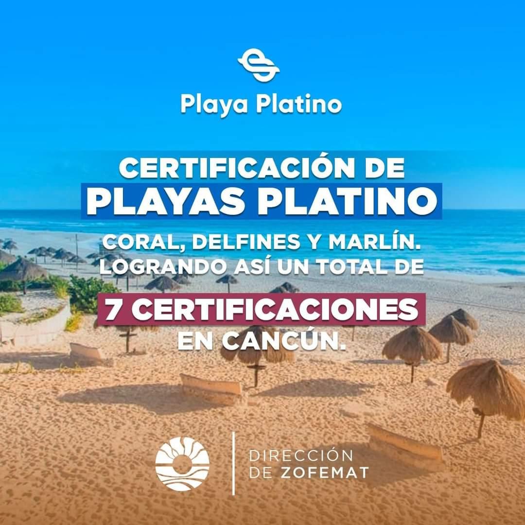 Cancun lider Nacional en playas platino quintana roo press