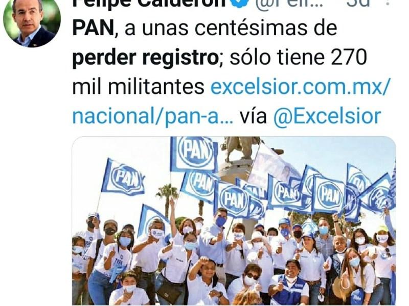 El PAN podria perder su registro CDMX PRESS