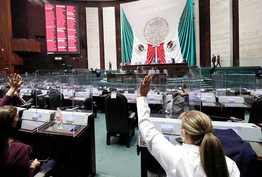 La Comision Permanente de la Camara de Diputados rechazo convocar a periodo extraordinario en el Congreso de la Union