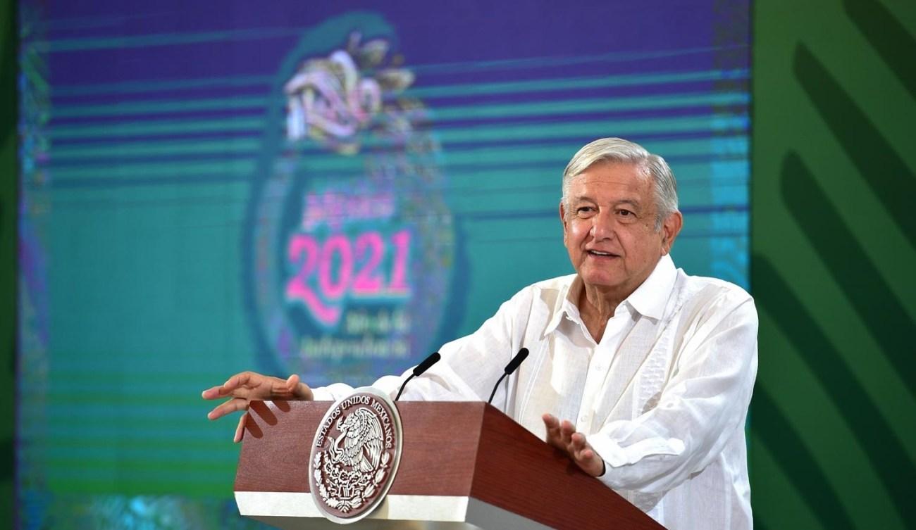 La meta es terminar julio con el 50 por ciento de la poblacion mayor de 18 anos vacunada Lopez Obrador