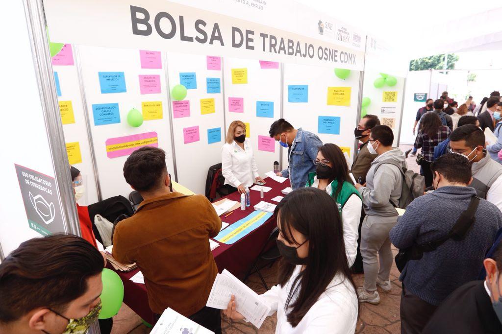 Reactivan Economia STYPS y STYFE con Feria Del Empleo En Ciudad De