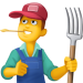 👨‍🌾 Man Farmer Emoji — Meaning, Copy & Paste