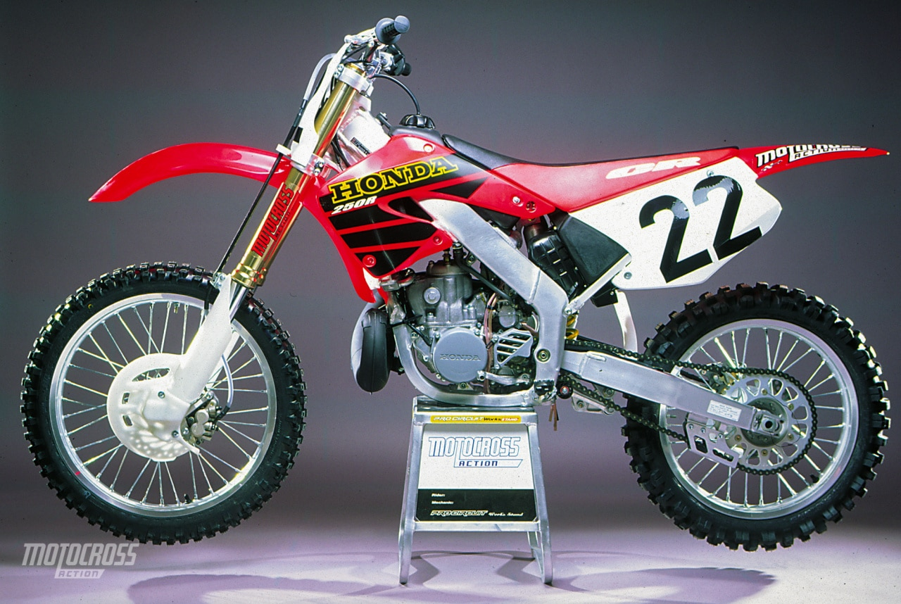test of the 2001 honda cr250 two stroke