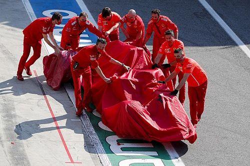 Gran accidente de Leclerc detiene el GP de Italia