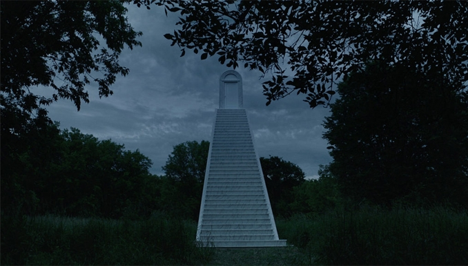 Stairs In The Woods Phenomenon Is Freaking People Out Slapped Ham   Carpet Stairs In The Woods   Wilderness   Open Wooden Stair   Glitter   Country House   Traditional