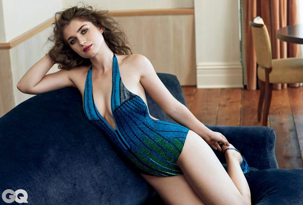 Bonos Actress Daughter Eve Hewson Is Gorgeous In Green