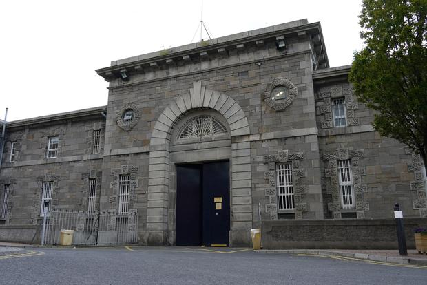 Image result for Mountjoy prison for thefts Childline collection box