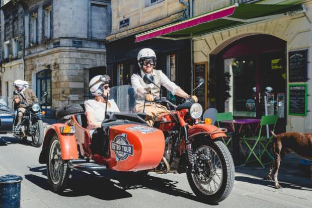 Tour of Tours in a Siberian sidecar