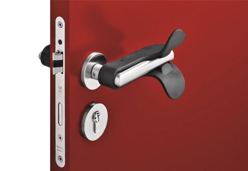 clip poignee de porte sans contact