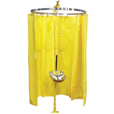 bradley safety shower eyewash privacy curtain s19 330