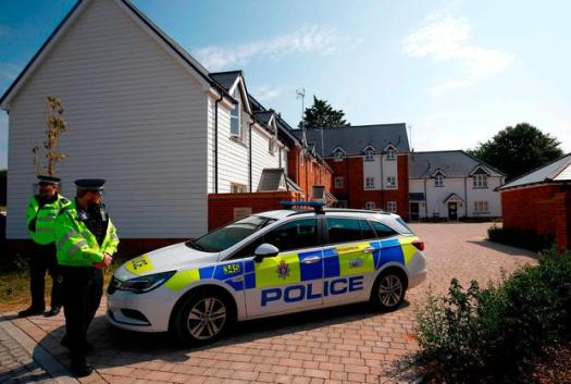 Image result for UK police find source of Novichok nerve agent in small bottle