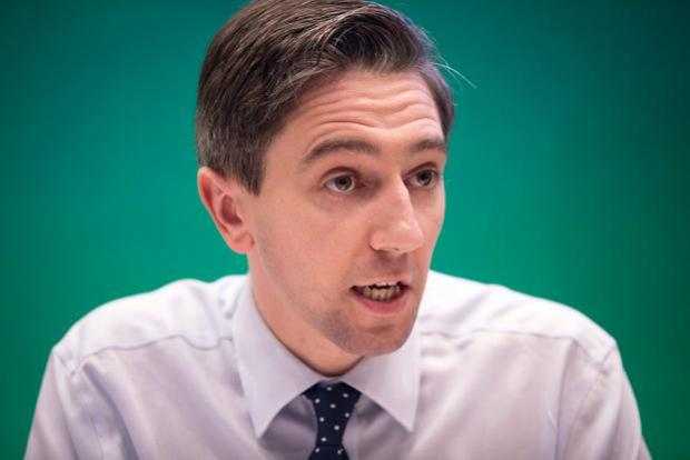 Health Minister Simon Harris is 'optimistic'. Photo: Arthur Carron