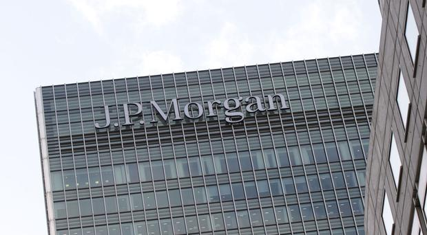 JP Morgan headquarters at Canary Wharf in London Photo: PA