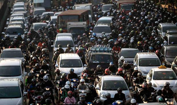 Indonesia considers moving sinking, traffic-choked capital ...