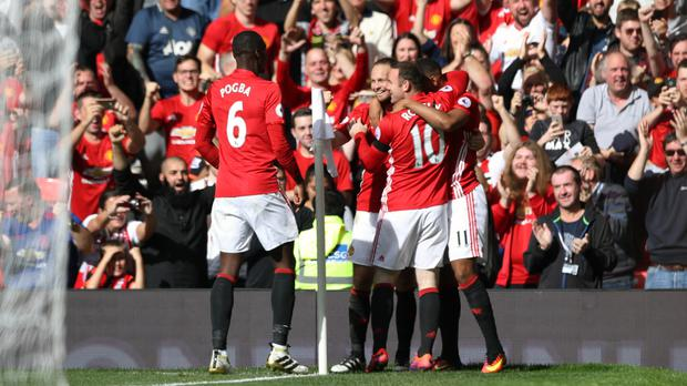 Image result for Manchester United 1-1 Stoke City: Joe Allen rescues a point for the Potters