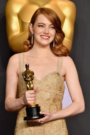 Image result for emma stone oscar