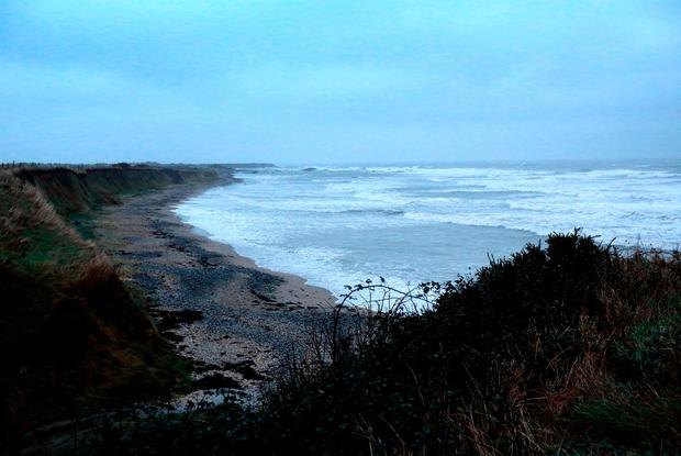 Bell's Beach north of Balbriggan, near the historic Brick Chimney, where an infant's body was discovered. Picture Credit: Frank McGrath 15/12/18