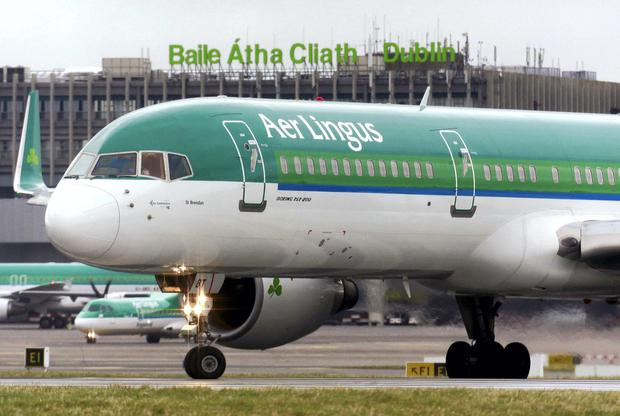 Action: Stobart Air cabin crew work on 21 Aer Lingus routes. Photo: REUTERS