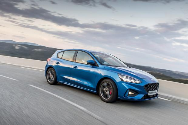 Roomy cabin: the new Ford Focus hatchback