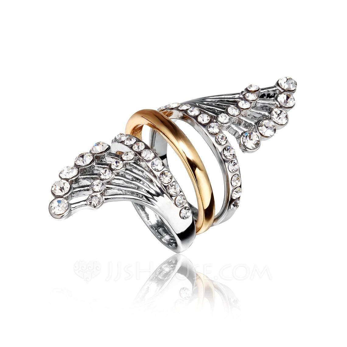Unique Alloy La S Rings
