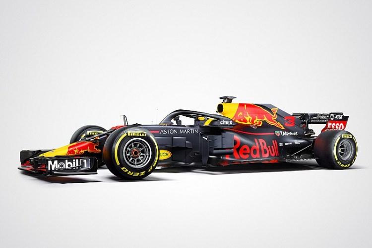 La Red Bull mostra la sua livrea ufficiale per la Formula 1 2018