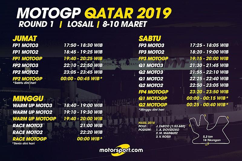 Jadwal Lengkap Motogp Qatar