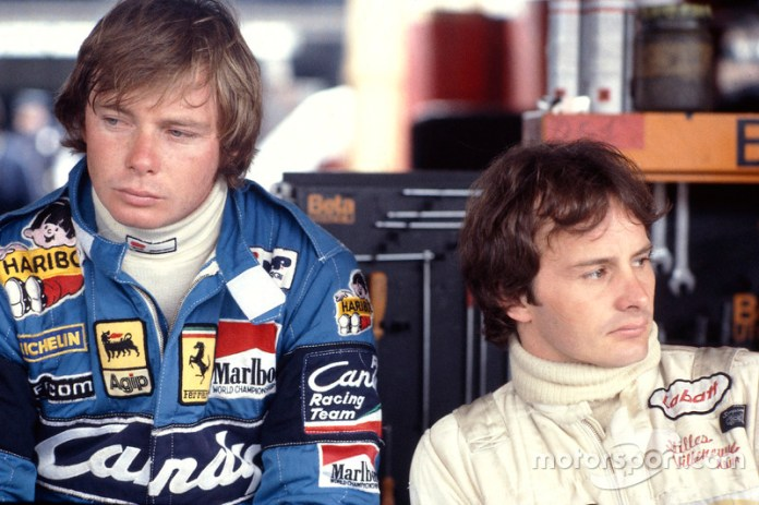 1: Gilles Villeneuve y Didier Pironi (Ferrari)