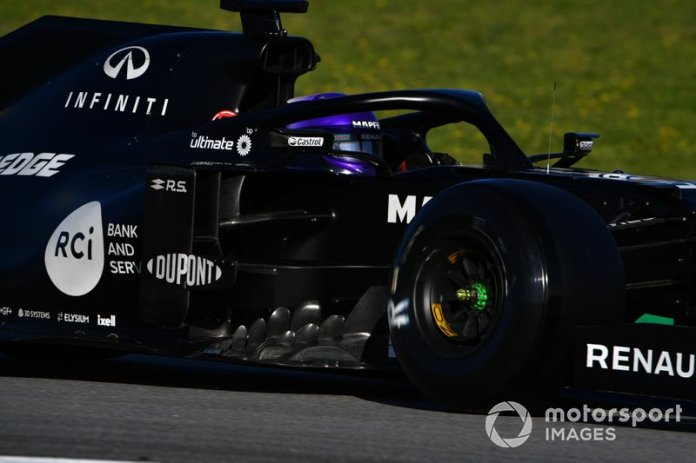 3º Daniel Ricciardo, Renault F1 Team R.S.20: 1:16.276 (con neumáticos C5)