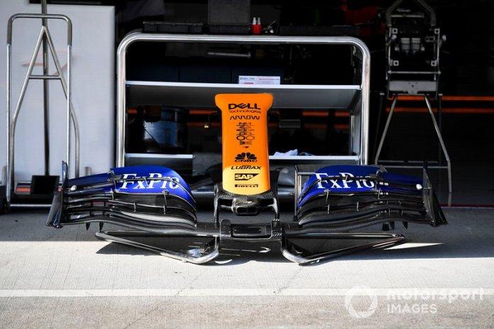 Alerón delantero del McLaren MCL34