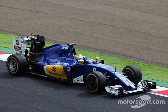 Marcus Ericsson, Sauber-Ferrari C35, 2016