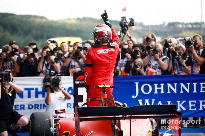 GP de Bélgica, Charles Leclerc, Ferrari