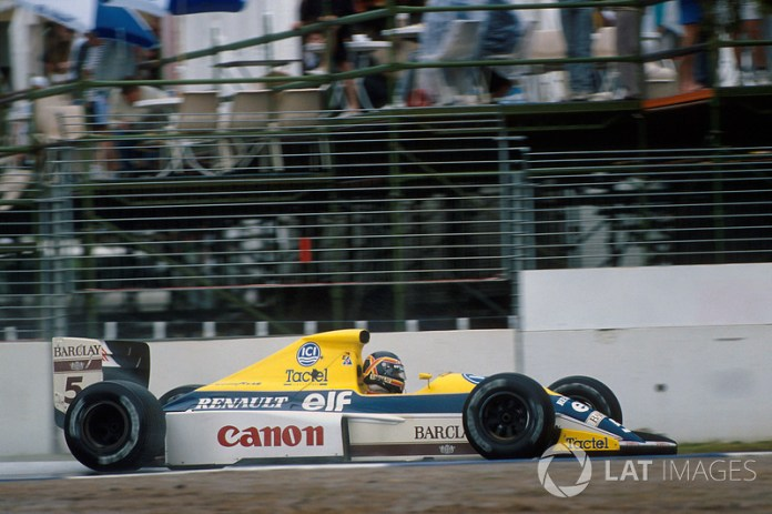 Thierry Boutsen, Williams-Renault FW13, 1989