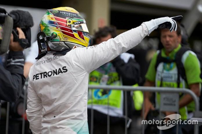 2016 - Lewis Hamilton, Mercedes AMG F1