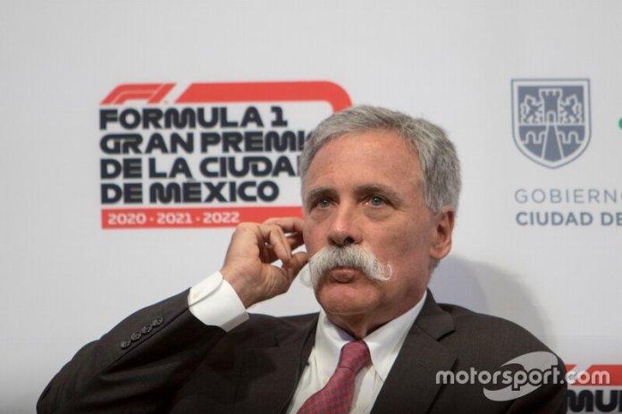 Chase Carey, Presidente de Formula One