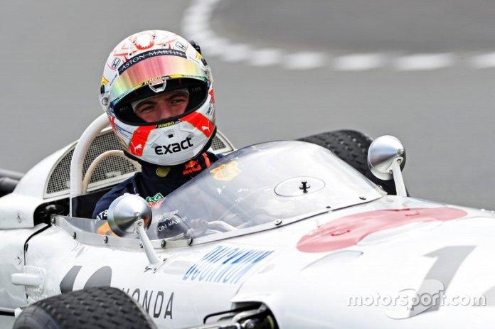 Max Verstappen, Honda RA272