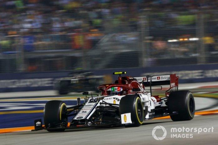 Antonio Giovinazzi - 1 GP liderado