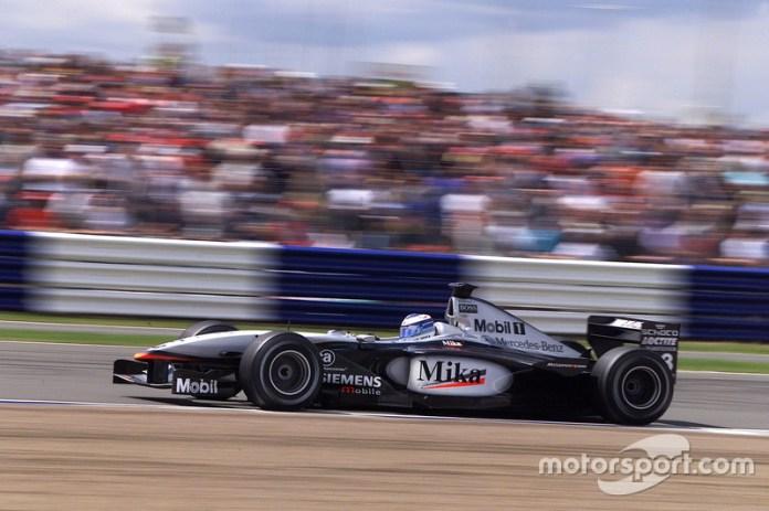 Mika Hakkinen, McLaren Mercedes MP4/16 (2001)