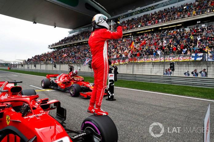 China 2018: Vettel logra su séptima pole con Ferrari, encabeza doblete rojo.