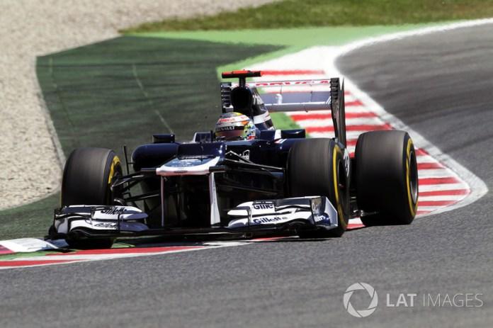 Pastor Maldonado - 1 GP liderado