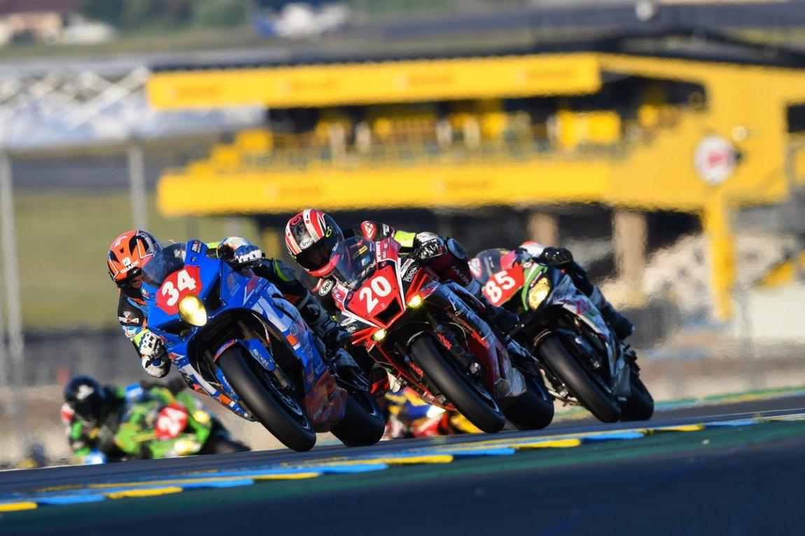 # 34 JMA Motos Action Bike: Cyril Carrillo, Julien Bonnet, Maxime Cudeville