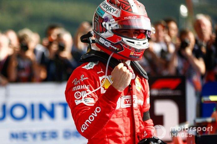 3- Charles Leclerc, 21 años, 10 meses y 16 días en el GP de Bélgica 2019