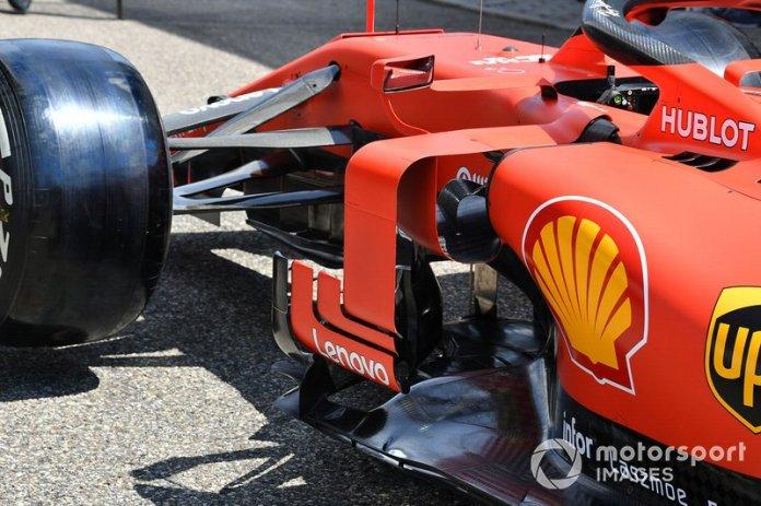 Piso delantero en Ferrari SF90
