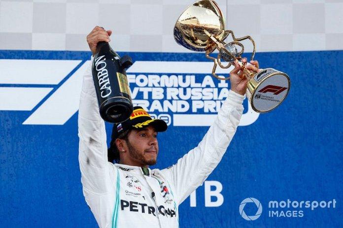 GP de Rusia, Lewis Hamilton, Mercedes