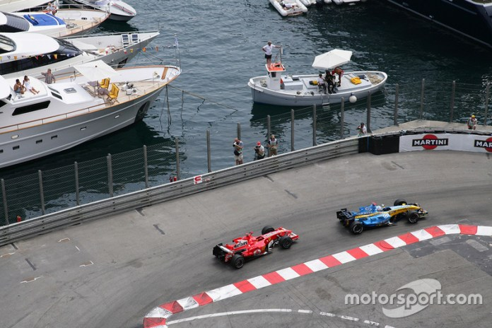 Monaco Grand Prix 2006, THE INCIDENT IN RASCASSE