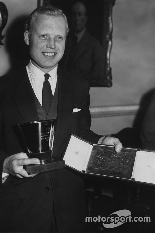 Campeón del mundo 1958 Mike Hawthorn