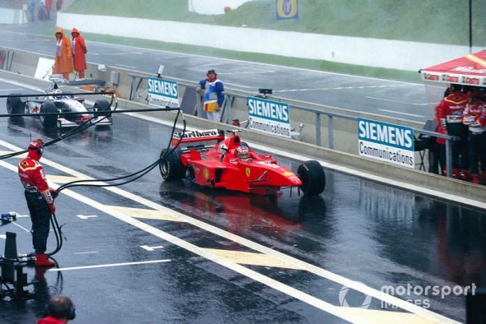 """Gran Premio de Bélgica 1998, """"¿ESTÁS TRATANDO DE MATARME?"""""""