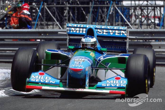 73: Michael Schumacher, Benetton Ford